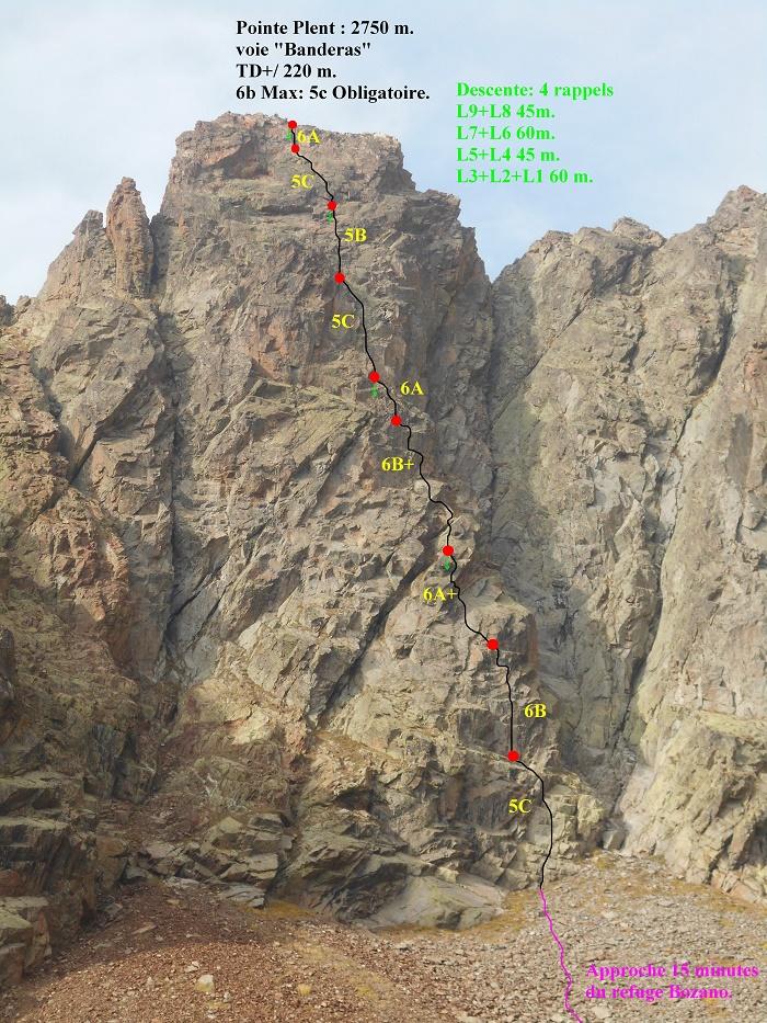 220 m à la Punta Plent Plent%20Banderas